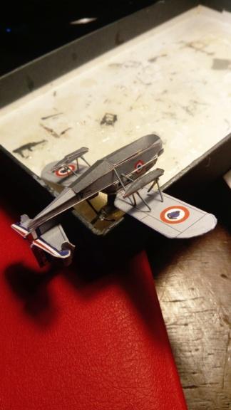 Croiseur Algérie 1/200 papier carton scratch Eagle GPM PE Shapeways . Dsc_0136
