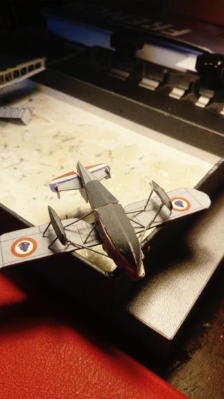 Croiseur Algérie 1/200 papier carton scratch Eagle GPM PE Shapeways . Dsc_0139