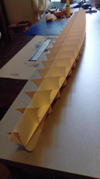 Croiseur Algérie 1/200 papier carton scratch Eagle GPM PE Shapeways . Dsc_0142
