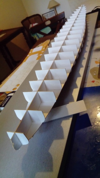 Croiseur Algérie 1/200 papier carton scratch Eagle GPM PE Shapeways . Dsc_0143