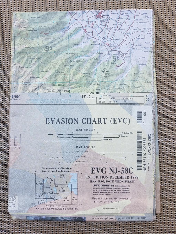 Evasion Chart  EVC NI-38F 20181010