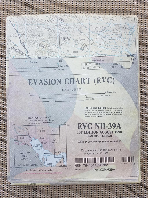 Evasion Chart  EVC NI-38F 20181011
