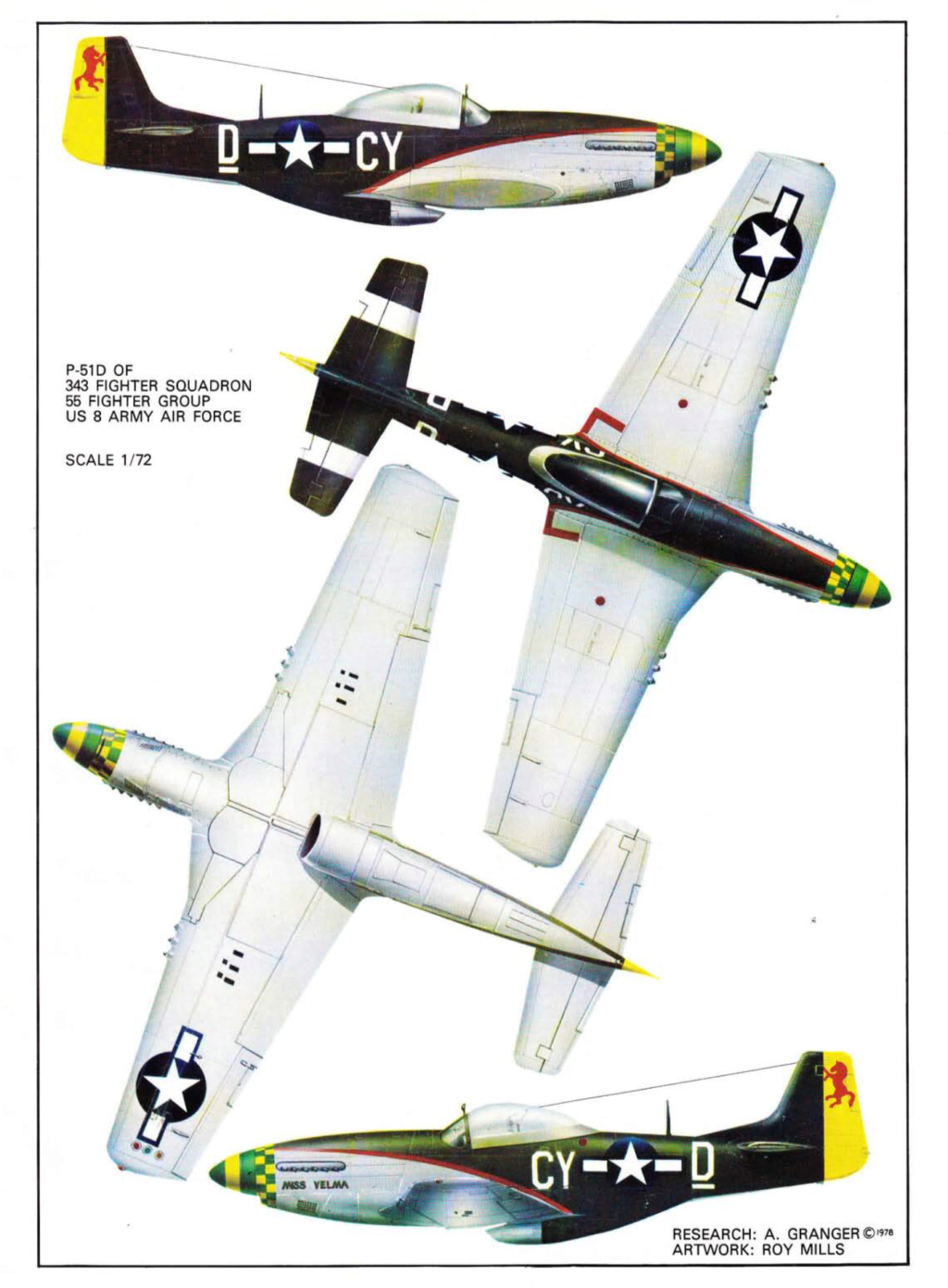 NORTH AMERICAN P-51 MUSTANG 712a4910