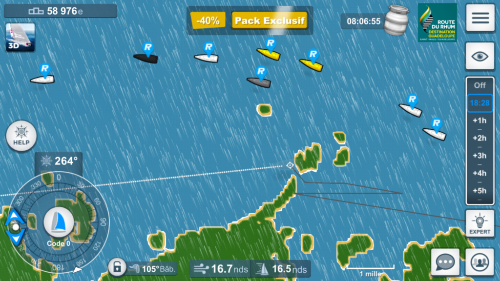 Virtual Regatta, Transatlantique en solitaire - Page 4 Screen11