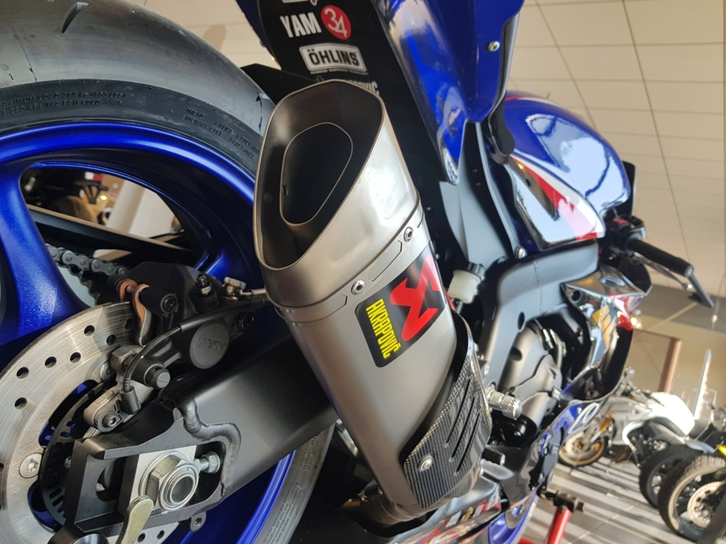 Yamaha R6 2018 piste/route 14900 euros  20180810