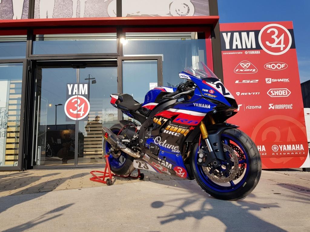 Yamaha R6 2018 piste/route 14900 euros  20180811