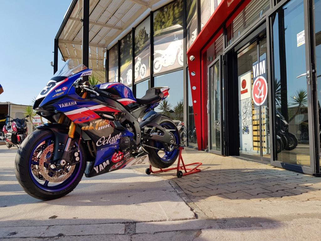 Yamaha R6 2018 piste/route 14900 euros  20180812