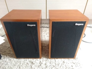 Rogers Studio 3 bbc bookshelf speakers Img-2025