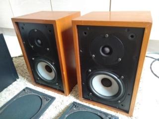 Rogers Studio 3 bbc bookshelf speakers Img-2026