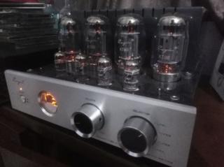 Tube hifi set Cayin Usher amplifier speaker Img_2073