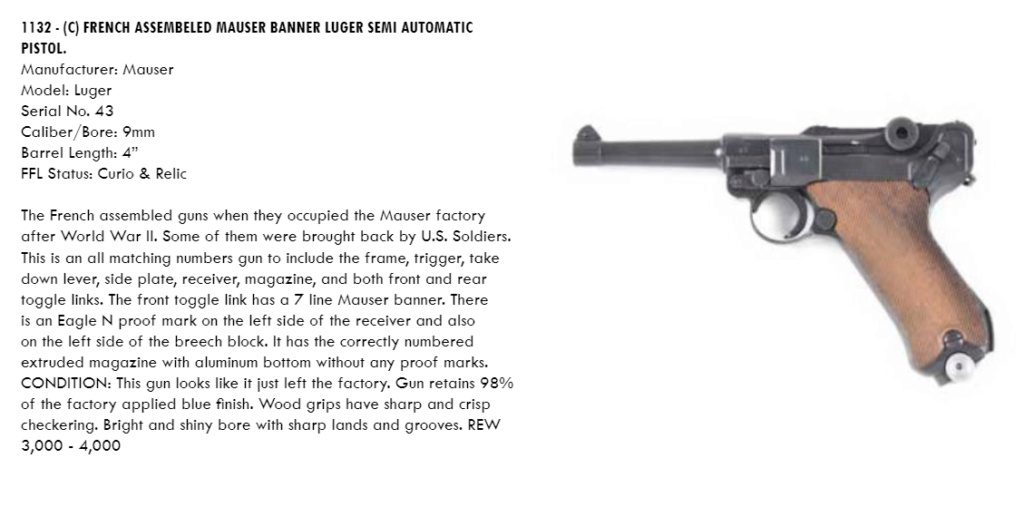 Réflexions sur la production de pistolets Luger, par Mauser, en 1945-1946. - Page 6 2021-010