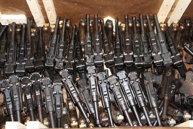 armes vouées à la destruction  (prises de guerre russes ) 51304310