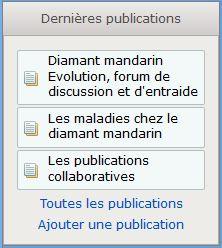 Nouveau widget dernieres publications Captur13