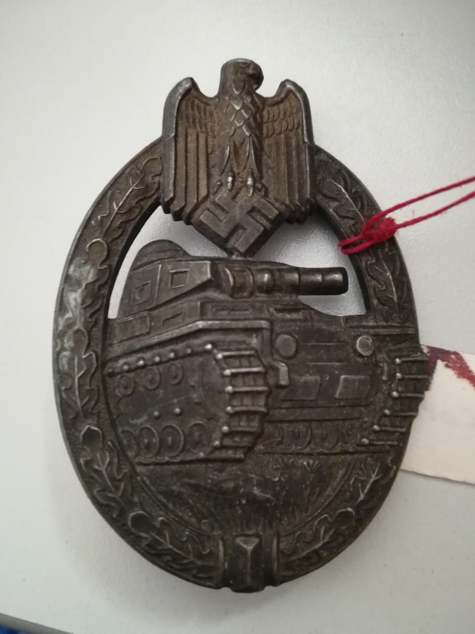 2 badges, infanterie et panzer Thumbn72
