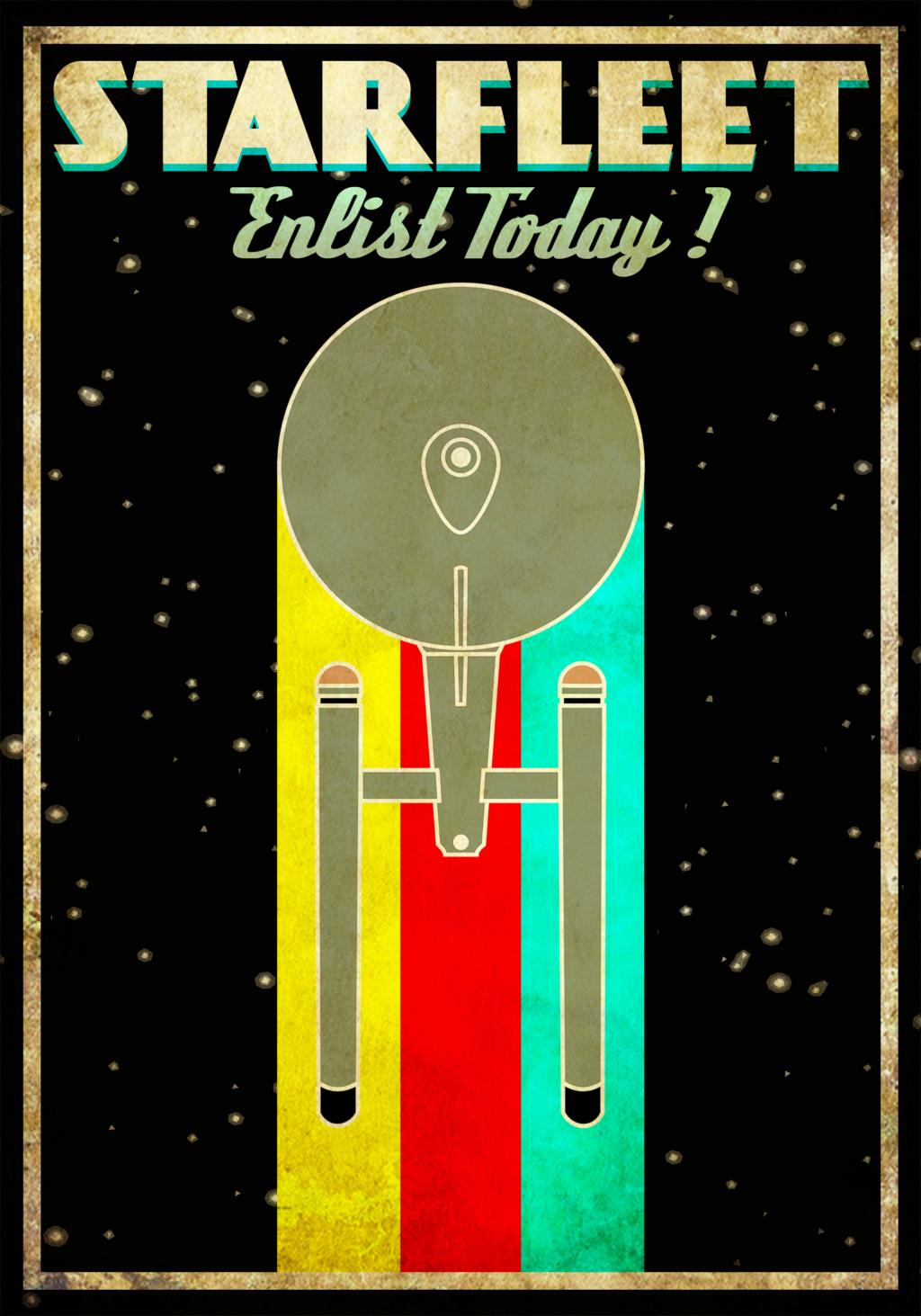 [Affiches Retro] Poster de Recrutement! Starfl10
