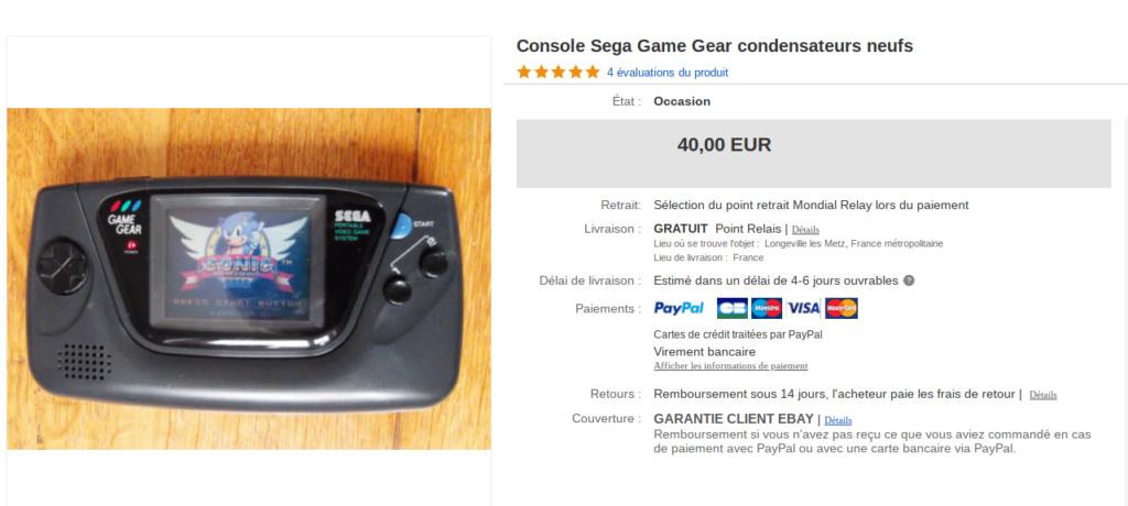 [estimation] combien vaut une game gear Screen36