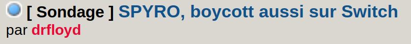 SPYRO, boycott aussi sur Switch - Page 3 Screen61