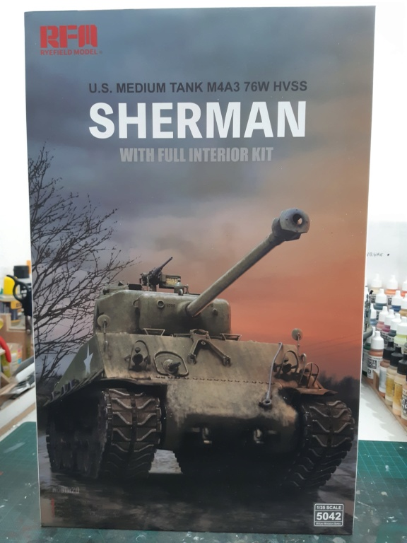 Sherman - M4A3 Sherman RFM-5042 20200710