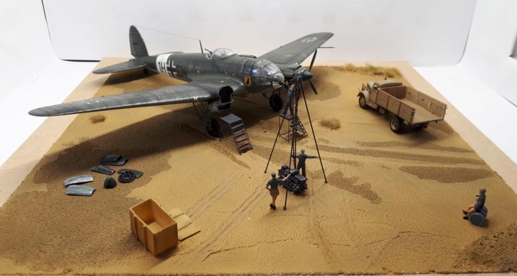 "Heinkel He 111 H6 ""TORPEDO BOMBER"" 5. Staffel II. Gruppe KG 26 "" Vestigium Leonis"" 1H+EN - Page 10 20190410"