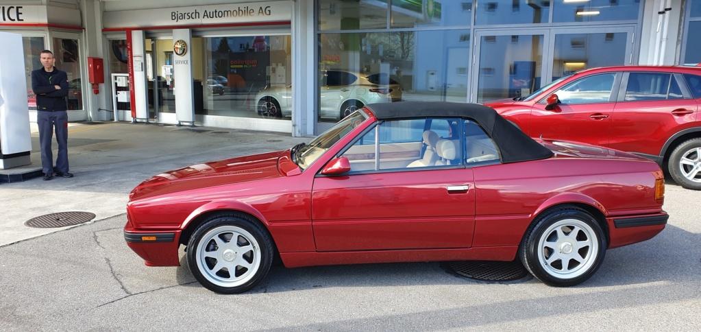 """Rosso """"corsa"""" e rosso Maserati 210"""