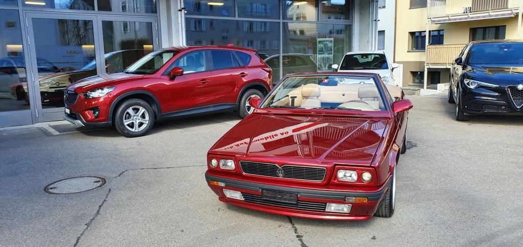 """Rosso """"corsa"""" e rosso Maserati 410"""