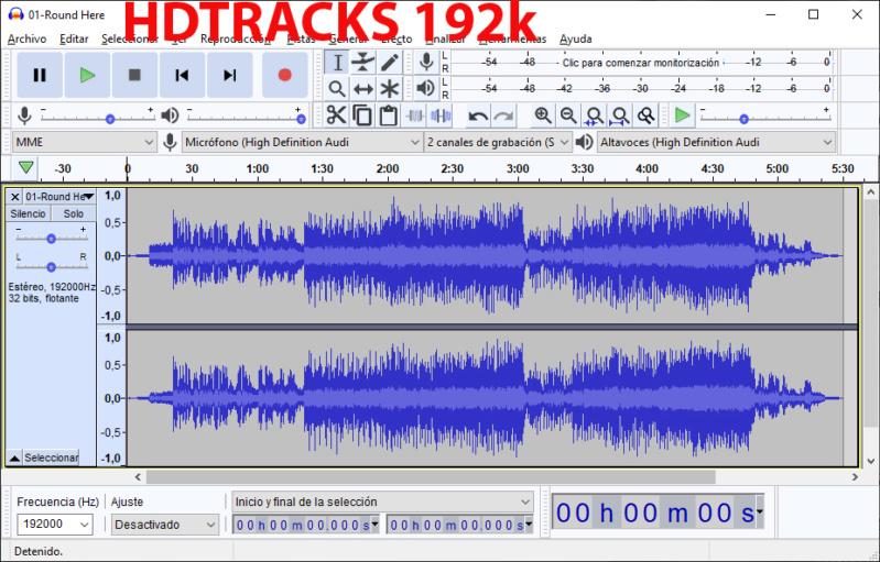 Algunos álbumes suenan peor en Tidal que el original en FLAC - Página 3 Hdtrac10