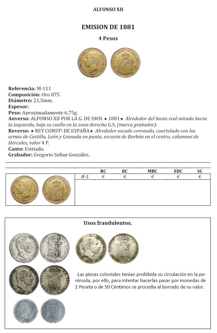 Catálogo de Monedas Hispano Filipinas 2018 210
