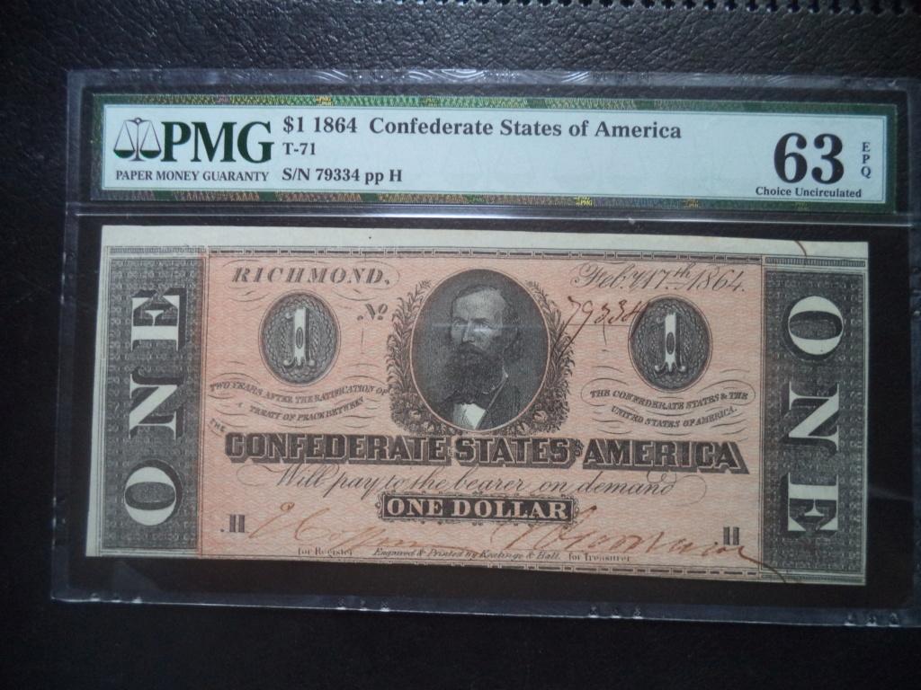 1 Dolar Estados Confederados de America, 1864 Dsc05212