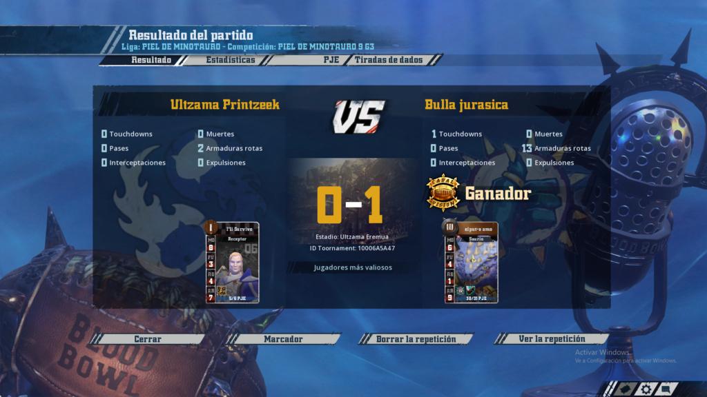 Campeonato Piel de Minotauro 9 - Grupo 3 / Jornada 6 - hasta el domingo 17 de Noviembre 10210