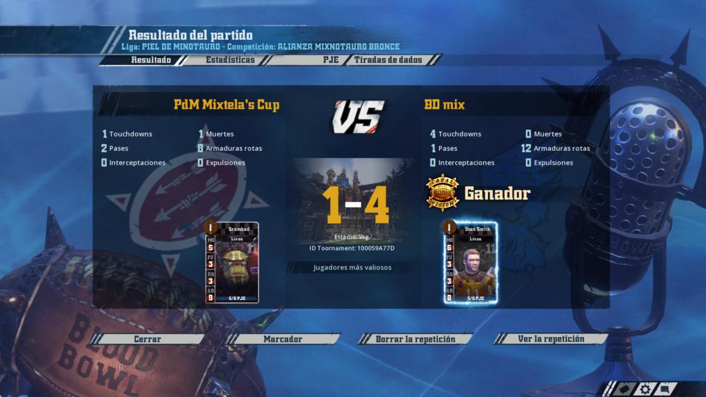 Liga Alianza Mixnotauro 1 - División Cuerno de Bronce / Jornada 1 - hasta el domingo 10 de febrero 6210