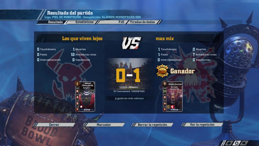 Liga Alianza Mixnotauro 1 - División CUERNO de ORO / Jornada 3 - hasta el domingo 10 de Marzo 6710