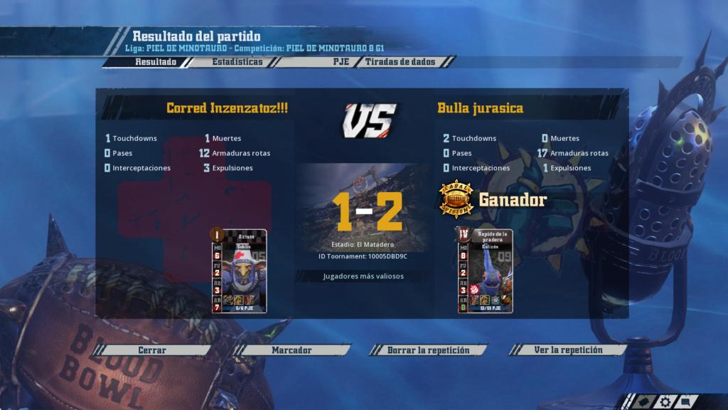 Campeonato Piel de Minotauro 8 - Grupo 1 / Jornada 8 - hasta el domingo 14 de abril 7510