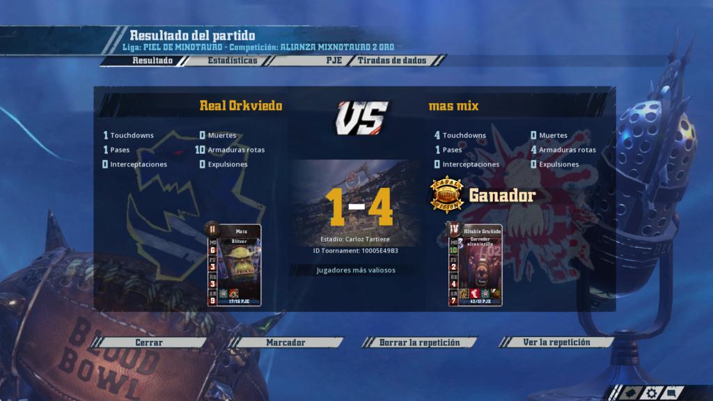 Liga Alianza Mixnotauro 2 - División Cuerno de Oro / Jornada 1 - hasta el domingo 5 de mayo 7710