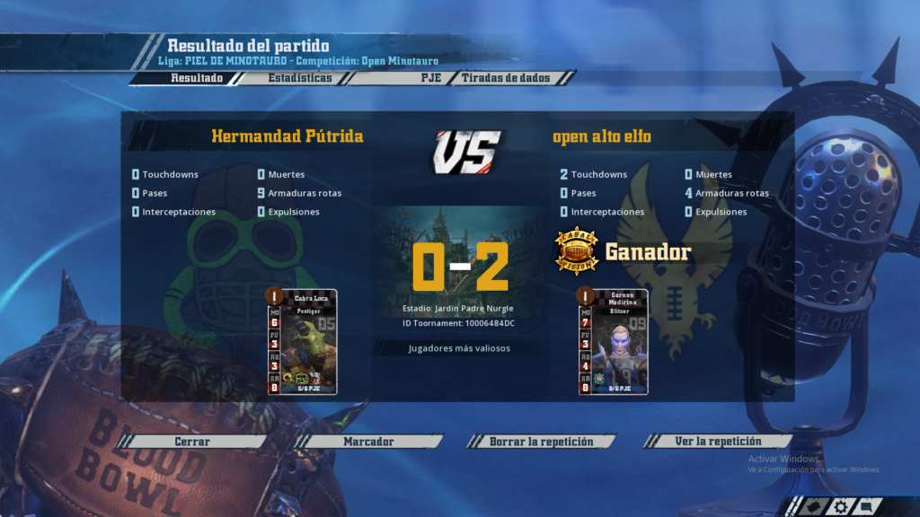 Open Minotauro Verano 2019 - Retos e Informes de partidos 9110