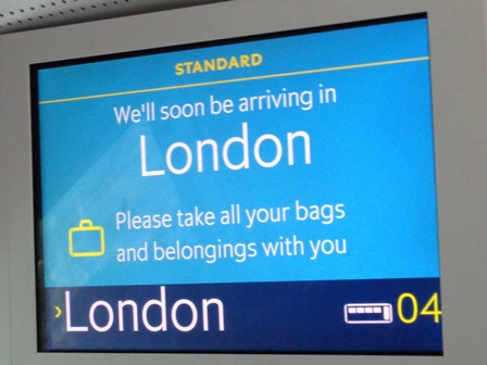 Let's go to LONDON Bl-1810
