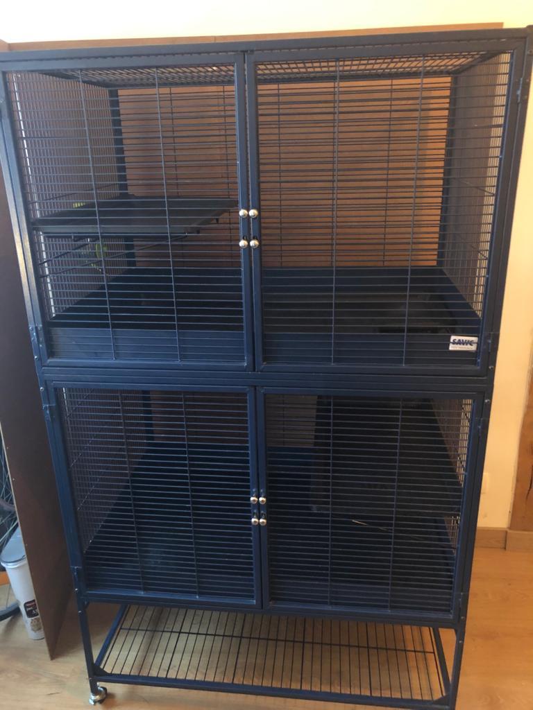 Cage Savic Suite Royal 95 Double à vendre (Région Parisienne) Cage-f10