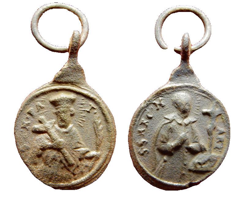 San Juan Nepomuceno- Santo no identificado, S. XVIII 10a10
