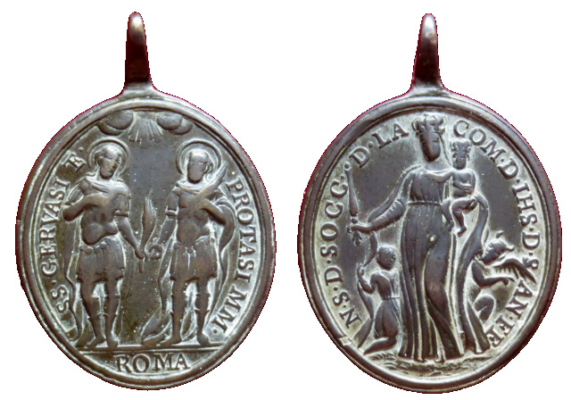 SS. Gervasio y Protasio- Ntra. Sra. del Socorro de la Compañia de Jesús de Santa Fe, S. XVIII ( R.M. SXVIII-O401 )  110