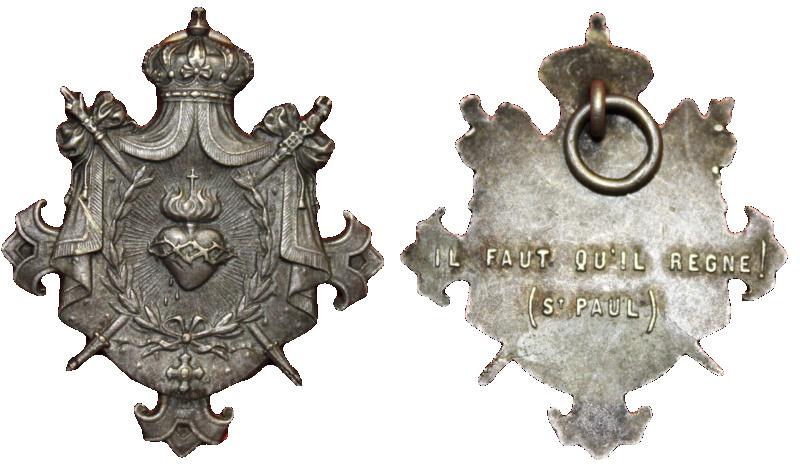 Sagrado Corazón de Jesús reinante, S. XIX 1210