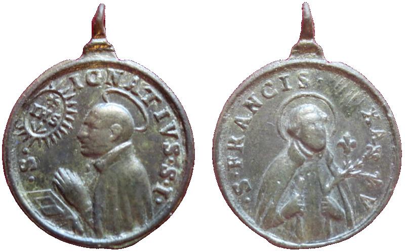 San Ignacio y San Francisco Javier (R.M. SXVII-C92) 13010