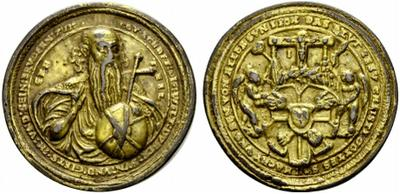 Dios Padre / Arma Christi y cinco llagas (Taller Milicz). S. XVI  16050910