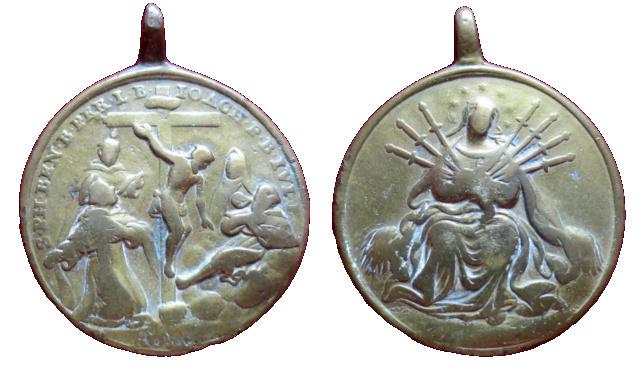 Mater Dolorosa siete espadas - Santos y beatos servitas, S.XVIII 30510