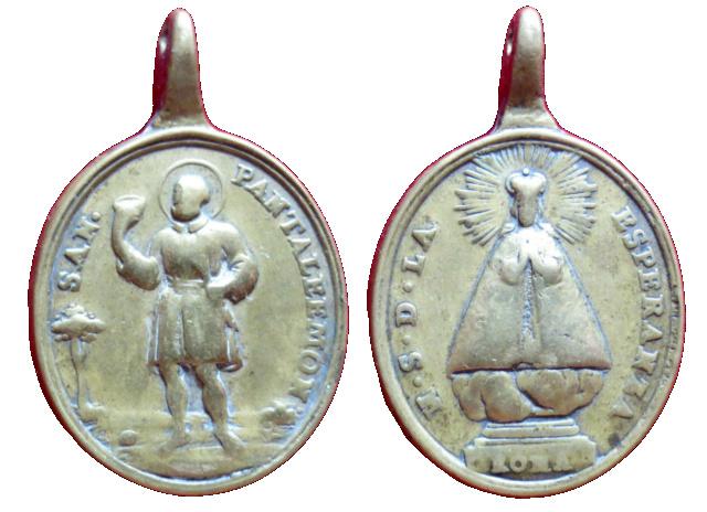 San Pantaleón / Ntra. Sra. de la Esperanza, S. XVIII (R.M. SXVIII-O392) 312