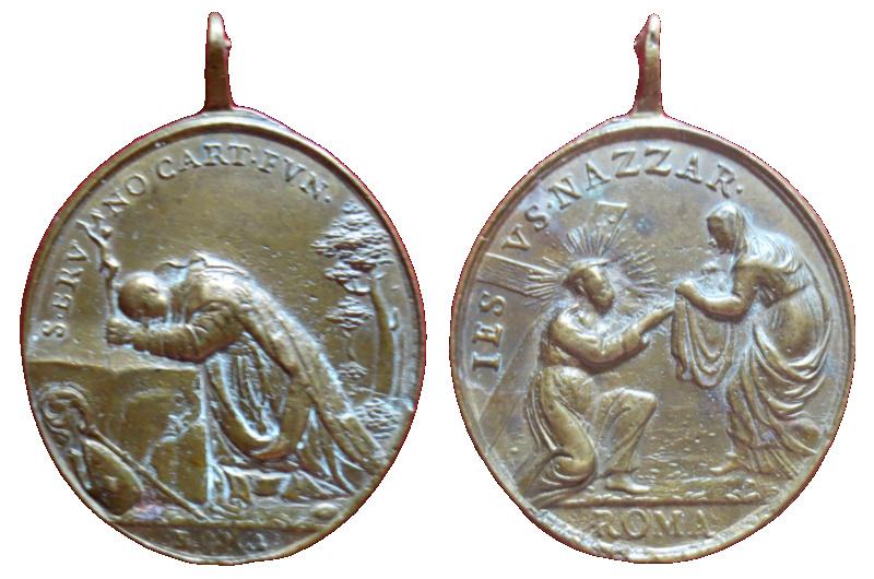 san Bruno de Colonia / Encuentro de Jesús con la Verónica, S. XVIII 31210