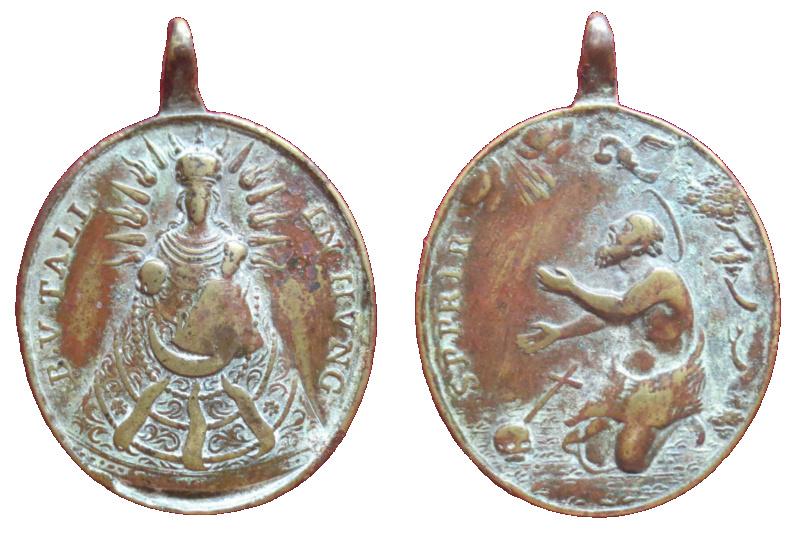 Virgen Maria Tallensis / San Pablo (R.M. SXVIII-O411) (MAM) 31410