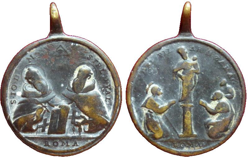 San Juan de Mata y San Felix de Valois - Ntra Sra. del Pilar, S. XVIII 31710