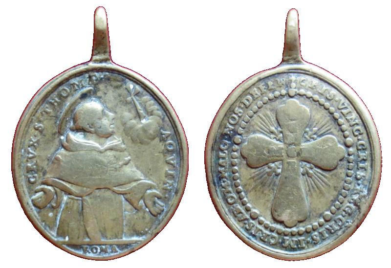 Santo Tomás de Aquino / Cruz de Santo Tomás, (R.M. SXVIII-O404) 318a10