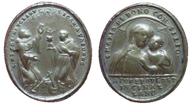 San Nicolás de Tolentino y San Juan de Sahagún / Ntra. Sra. del Buen Consejo de Genazzaro, S. XVIII 35710