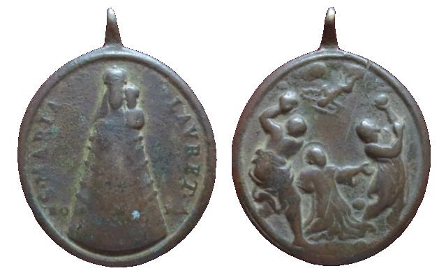 Ntra. Sra. de Loreto / Lapidación o Martirio de San Esteban, S.XVIII 35910