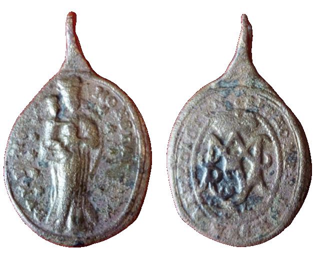 Madre de Dios Svatokopecká / Monograma de María (Chequia), MAM 4010